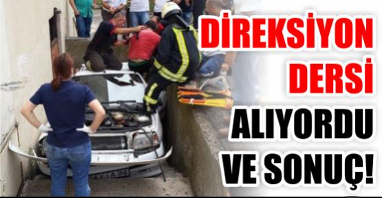 DİREKSİYON DERSİ ALIYORDU VE SONUÇ!