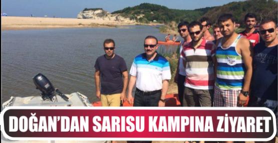 DOĞAN'DAN SARISU KAMPINA ZİYARET