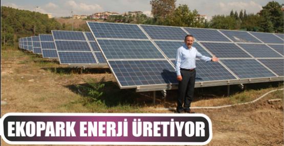 EKOPARK ENERJİ ÜRETİYOR