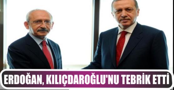 Erdoğan, Kılıçdaroğlu'nu tebrik etti