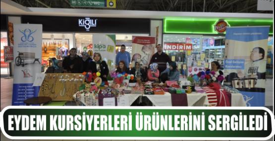 EYDEM Kursiyerleri ürünlerini sergiledi