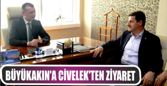 Genel Sekreter Büyükakın'a İl Başkanı Civelek'ten ziyaret