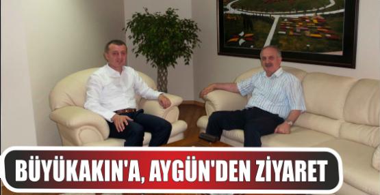 Genel Sekreter Büyükakın'a, Milletvekili Aygün'den ziyaret