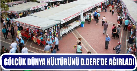 Gölcük Belediyesi D.dere Çınarlık Meydanında Dünya Kültürünü ağırladı