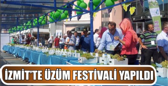 İZMİT'TE ÜZÜM FESTİVALİ YAPILDI