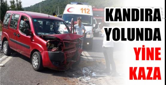 Kandıra yolunda yine kaza: 5 yaralı