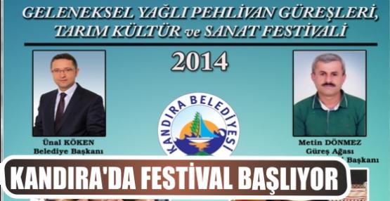 KANDIRA'DA FESTİVAL BAŞLIYOR