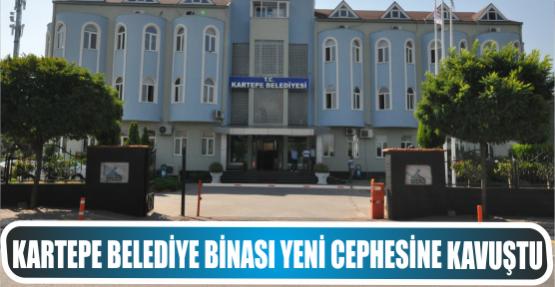 Kartepe Belediye Binası Yeni Cephesine Kavuştu