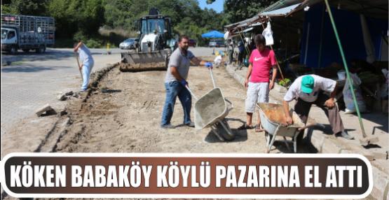 Köken Babaköy Köylü Pazarına El attı
