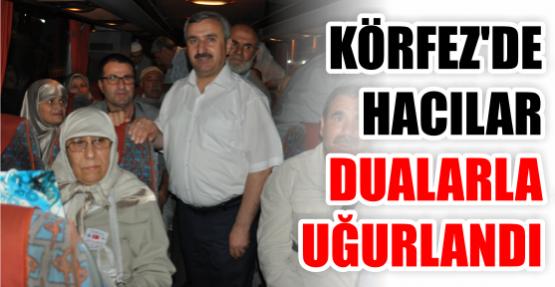 Körfezli Hacı Adaylarını Başkan Baran Uğurladı