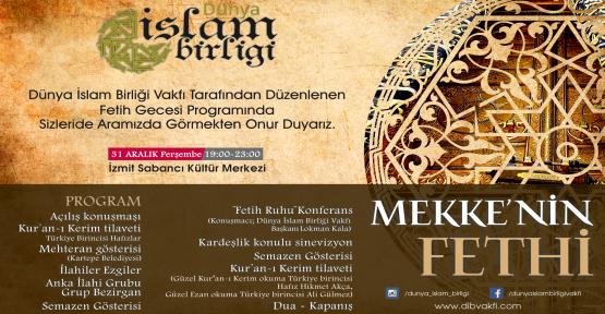 Mekke'nin Fethi'nin 1385. yıl dönümü kutlanacak
