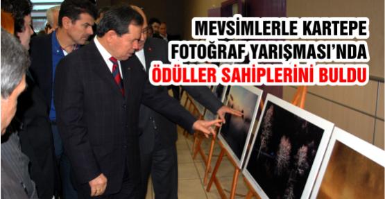 Mevsimlerle Kartepe Fotoğraf Yarışması'nda Ödüller Sahiplerini Buldu