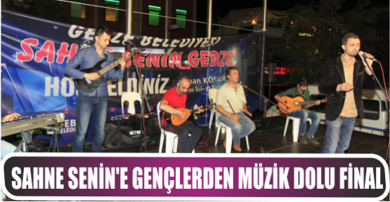 SAHNE SENİN'E GENÇLERDEN MÜZİK DOLU FİNAL