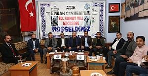 Erzurumlular Derneği'nde Aşıklar Gecesi