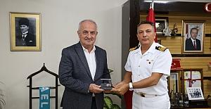 Komutan Koçaş'tan Başkan Aygün'e Ziyaret