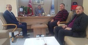 Domaniç Belediye Başkanı  Öztürk'e Konuk Oldu