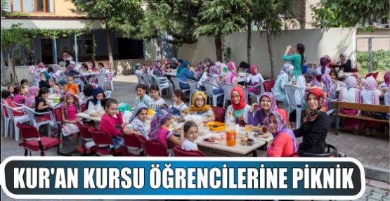 Yaz Kur'an Kursu Öğrencilerine Piknik
